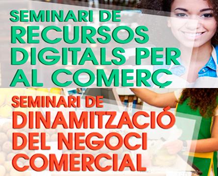 Imatge de la noticia Oberta la inscripció a dos nous seminaris per millorar la competitivitat del sector comercial de la Ribera