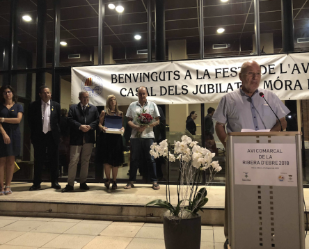 Imatge de la noticia El miravetà Fernando Meléndez Cañizares és escollit Avi Comarcal de la Ribera d'Ebre 2018