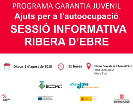 Imatge de la noticia Es busquen joves que vulguin treballar o muntar un negoci propi a la Ribera d'Ebre amb el suport de Garantia Juvenil