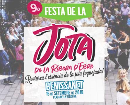Imatge de la noticia Benissanet acull la 9a Festa de la Jota de la Ribera d'Ebre i reviurà l'essència de l'antiga jota foguejada