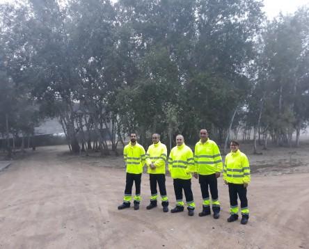 Imatge de la noticia En marxa un nou pla d'ocupació que dóna feina a cinc riberencs i impulsarà millores paisatgístiques a tots els pobles de la comarca