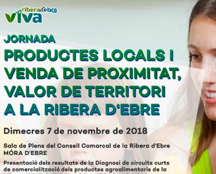 Imatge de la noticia Oberta la inscripció a la Jornada de Productes i Venda de Proximitat on es presentarà la diagnosi sobre la comercialització del producte agroalimentari riberenc