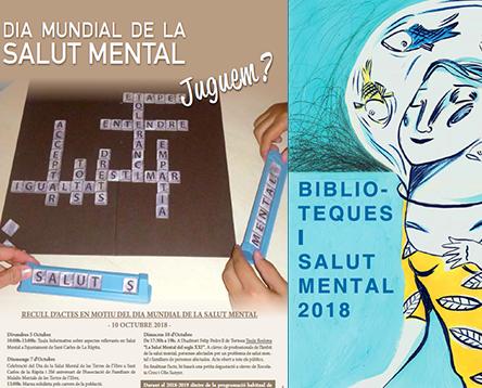 Imatge de la noticia La Ribera se suma al Dia Mundial de la Salut Mental impulsant activitats integradores com conta contes, tallers, una exposició i cinefòrum a les biblioteques de la comarca
