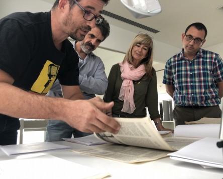 Imatge de la noticia Una dècada de mecenatge comarcal permet consultar i estudiar gairebé tot el fons personal d'Artur Bladé i Desumvila dipositat a l'Arxiu Comarcal de la Ribera