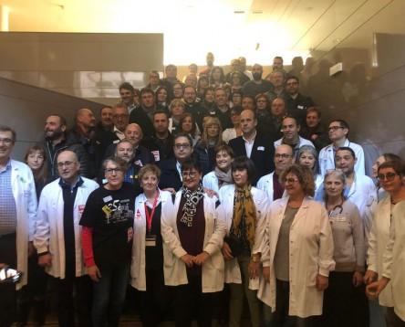 Imatge de la noticia Suport a la mobilització del Comitè d'Empresa per reclamar la creació de l'empresa pública que ha de gestionar l'Hospital Comarcal de Móra