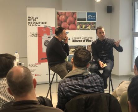 Imatge de la noticia La Mobile Week Ebre pren el pols al sector tecnològic i els projectes digitals de les Terres de l'Ebre per crear sinergies al territori