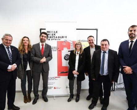 Imatge de la noticia El conseller de Polítiques Digitals dóna el tret de sortida a la Mobile Week Ebre, una setmana d'activitats TIC a tots els pobles de la Ribera