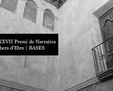 Imatge de la noticia Convocada la XXXVII edició del premi de Narrativa Ribera d'Ebre