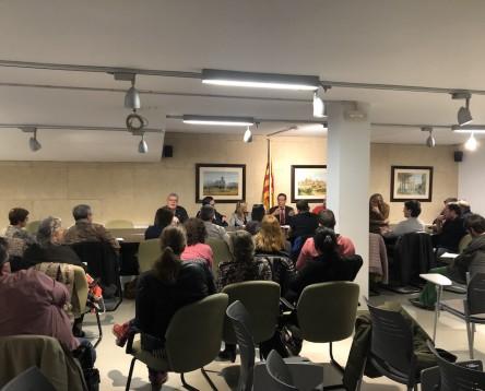 Imatge de la noticia El Consell Comarcal informa als alcaldes de la situació tècnica i jurídica de l'abocador de Riba-roja per preparar una nova reunió política amb el conseller Calvet