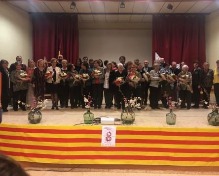 Imatge de la noticia 14 riberenques homenatjades com a Dones Treballadores amb motiu de la festa comarcal del 8M a Benissanet