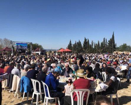 """Imatge de la noticia Darmós multiplica per 15 la seva població en una """"impressionant"""" Festa comarcal de la Clotxa que han fet possible 98 voluntaris"""