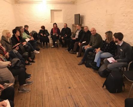 Imatge de la noticia Una delegació de la ribera visita el Regne Unit per conèixer bones pràctiques i avançar en el projecte CoLabora de coworking rural europeu