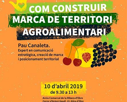 Imatge de la noticia 'Com construir marca de territori agroalimentari', primera de les quatre sessions per redactar el Pla d'Acció del producte local de la Ribera d'Ebre