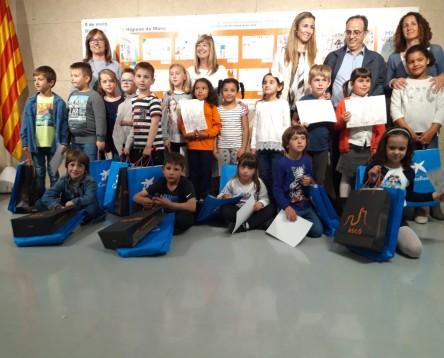 """Imatge de la noticia Lliurament dels premis del concurs """"Rentem-nos les mans quan toca"""" en motiu del dia 5 de maig, Dia Mundial de la Higiene de Mans"""