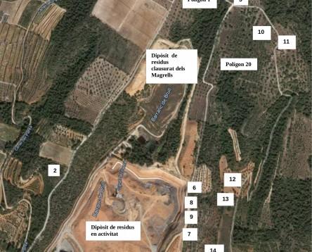 Imatge de la noticia El Consell Comarcal de la Ribera d'Ebre presenta un informe a al·legant la que la proposta d'ampliació de l'abocador dels Magrells (Tivissa) no és necessària