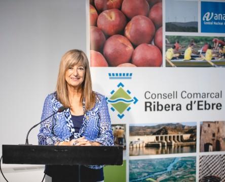 """Imatge de la noticia """"Ara és un bon moment per parlar de la terra. Fem que la ruralitat sigui un valor"""" Gemma Carim, presidenta del Consell Comarcal de la Ribera d'Ebre"""