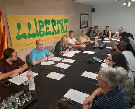 Imatge de la noticia El ple del Consell Comarcal de la Ribera d'Ebre aprova la moció de rebuig a la sentència del Tribunal Suprem