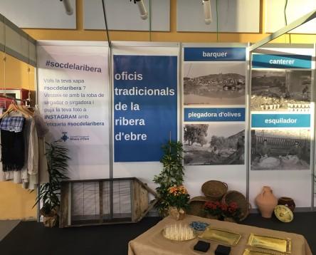 Imatge de la noticia El Consell Comarcal promociona els oficis tradicionals de la Ribera d'Ebre a la Fira Multisectorial de Móra la Nova
