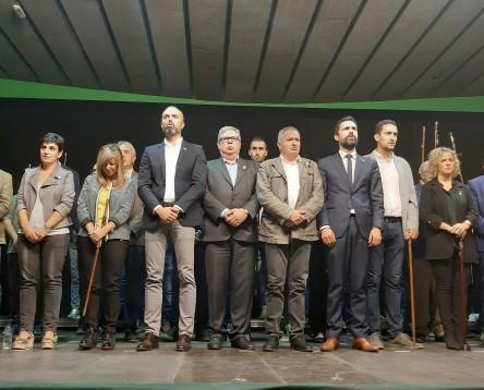 Imatge de la noticia Els electes de l'Ebre demanen la llibertat de Carme Forcadell i de tots els presos polítics