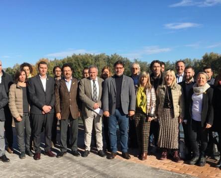 Imatge de la noticia La Ribera d'Ebre posa fil a l'agulla al projecte 'Un país d'oportunitats, un país viu'