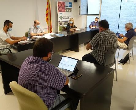 Imatge de la noticia El Consell Comarcal de la Ribera comença a treballar en un pla de reactivació econòmica post-coronavirus