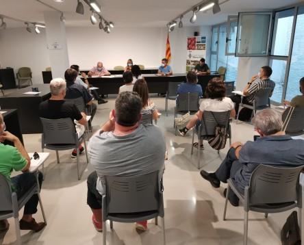 Imatge de la noticia El Consell de la Ribera d'Ebre aprova el manifest contra el transvasament a Santander