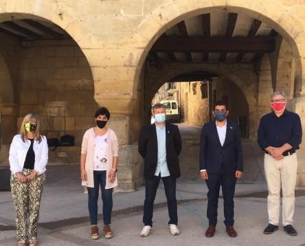 Imatge de la noticia Els consells comarcals ebrencs es reuneixen amb el conseller de Treball per coordinar les polítiques actives d'ocupació i la dinamització econòmica a l'Ebre