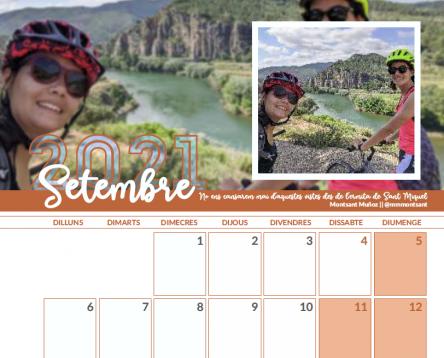 Imatge de la noticia L'Oficina Jove publica el calendari del 2021 amb imatges del concurs d'Instagram #socdelaribera