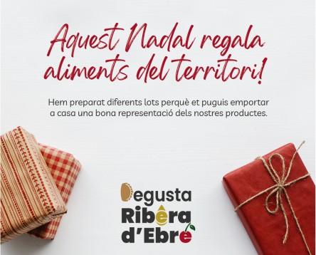 Imatge de la noticia Productors i elaboradors agroalimentaris de la Ribera d'Ebre uneixen esforços per promoure lots de Nadal