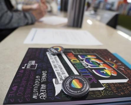 Imatge de la noticia El Consell Comarcal de la Ribera d'Ebre visibilitza les persones LGTBI+ a les biblioteques