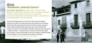 Benissanet, paisatge literari