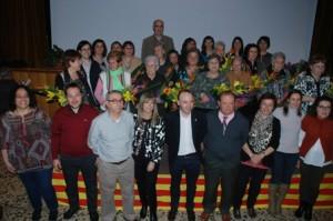 1 x web 07-03-14 Les 14 dones homenatjades i autoritats