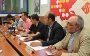 04-08-14 Reunio presidents CC TE al Baix Ebre