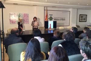25N Ribera d'Ebre contra violència de gènere