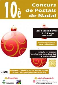 10è concurs postals de Nadal de la Ribera d'Ebre