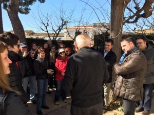 Imatge del grup que va participar aquest dissabte passat a l'estrena de la nova ruta a Benissanet.