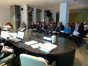 Imatge del Ple del CIS, amb representants del sector públic i privat de les dues comarques, celebrat ahir a la tarda.