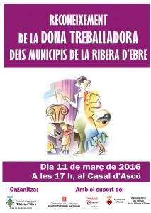 DONA TREBALLADORA RIBERA D'EBRE 2016