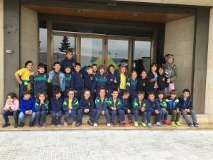 alumnes de 1r cursa de Primària