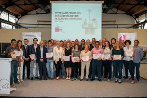 Guanyadors del 22è Concurs de Vins Embotellats de la DO Tarragona.