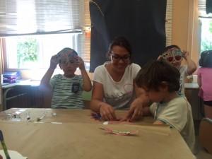 Miriam Benaiges és una de les monitores en pràctiques del casal de Móra d'Ebre.