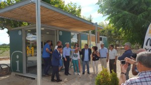 La nova oficina comarcal de Turisme de la Ribera d'Ebre, a Miravet.