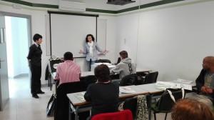 Les tècniques comarcals i empresaris experimentats de la comarca, com la Noèlia Guirao, s'encarreguen d'impartir la formació.