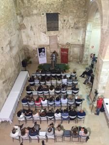 L'Església Vella de Ginestar va acollir ahir l'acte de lliurament del XVIIè Premi d'Assaig Artur Bladé i Desumvila.