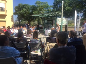 La presidenta del Consell Comarcal ha donat la benvinguda als coworkers procedents d'arreu de Catalunya.