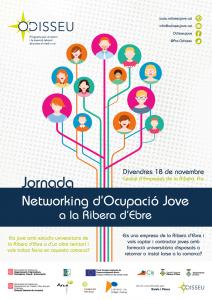 Cartell Networking ocupació jove