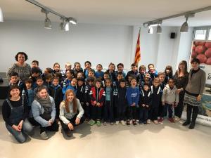 Visita escola Lluís Viñas al CCRE