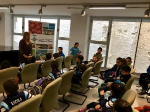 Visita escola Lluís Viñas al CCRE Gemma Carim