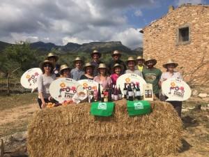 Productors riberencs participants al Benvinguts a Pagès de 2017.
