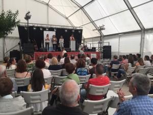Els premis als joves escriptors es van lliurar aquest dissabte en el marc de la Fira de Llibre Ebrenc.